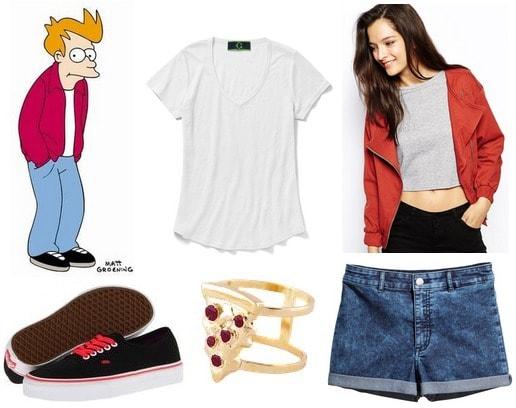Fry Futurama inspired fashion