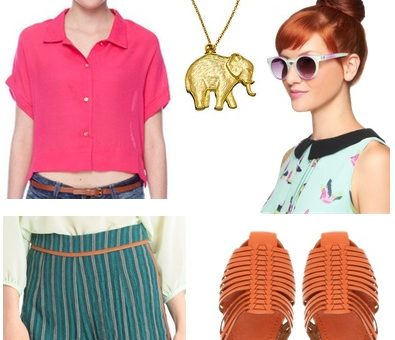 fuchsia-teal outfit 2
