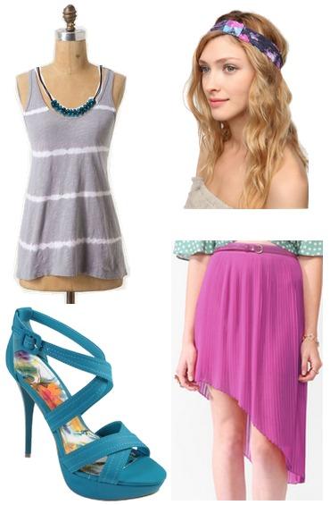 fuchsia-teal outfit 4