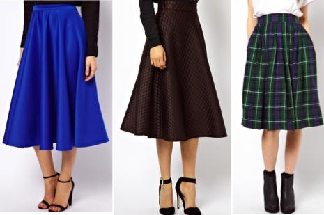 Full circle skirts