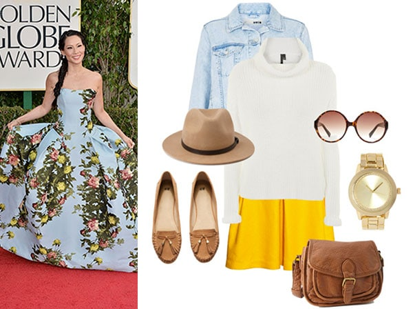 Fun and flirty red carpet look