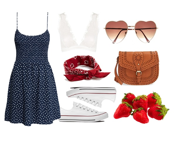 fun and flirty outfit