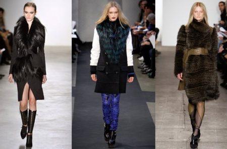 Faux fur trend seen on the runways