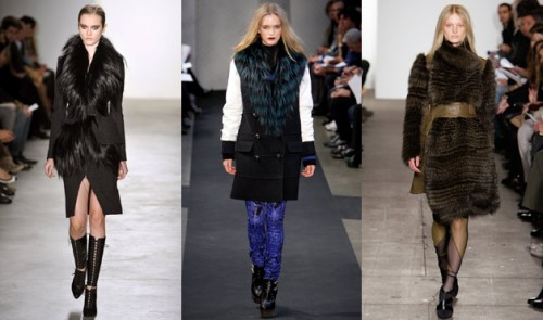 Faux fur trend seen on the runways