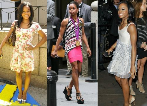 Gabby douglas fashion