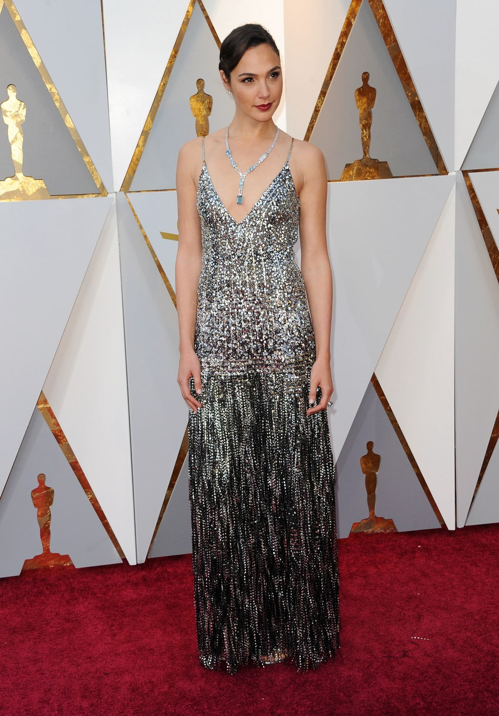 Gal Gadot in Givenchy at the 2018 Oscars