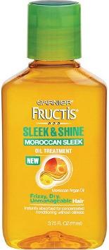 Garnier sleek and shine moroccan oil treatment