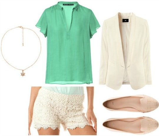 Gatsby green outfit
