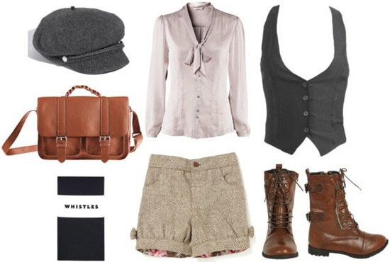 Outfit inspired by Gavroche from Les Miserables