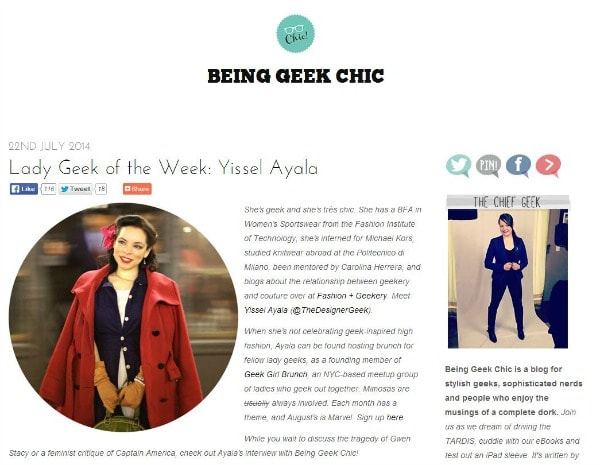 Great Inspiration7 websites for geek chic inspiration foto