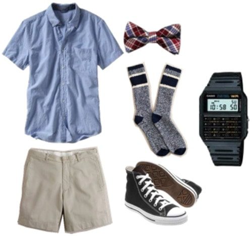 Guys geek chic outfit 1