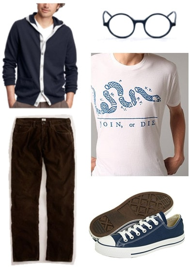 Guys geek chic outfit 3