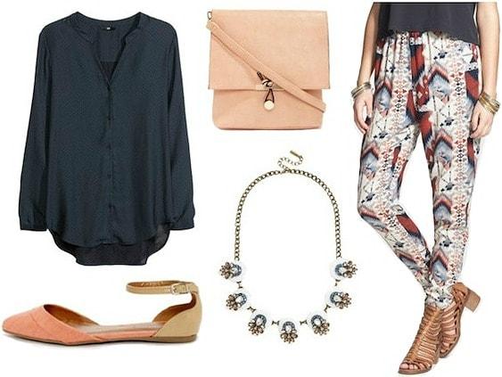 Geometric prints spring fashion trend