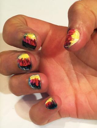 German language nails