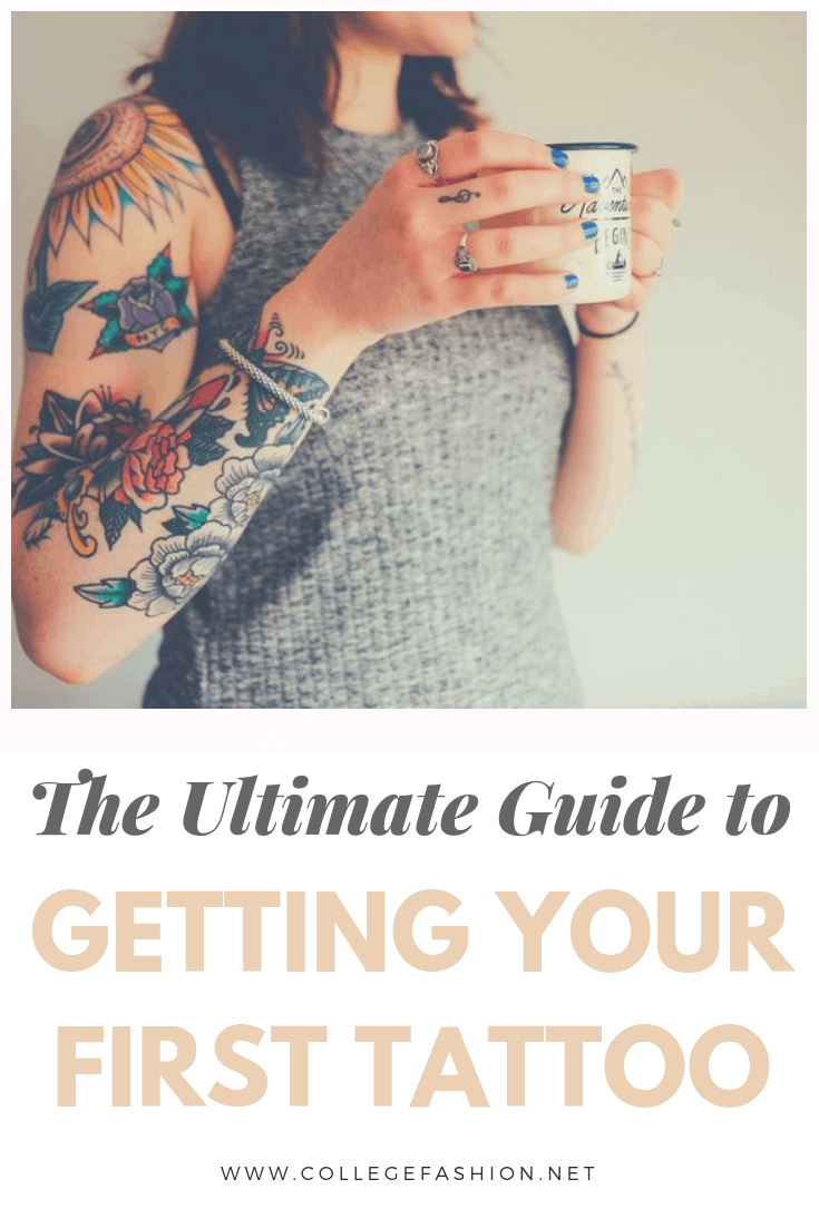 The ultimate guide to getting your first tattoo