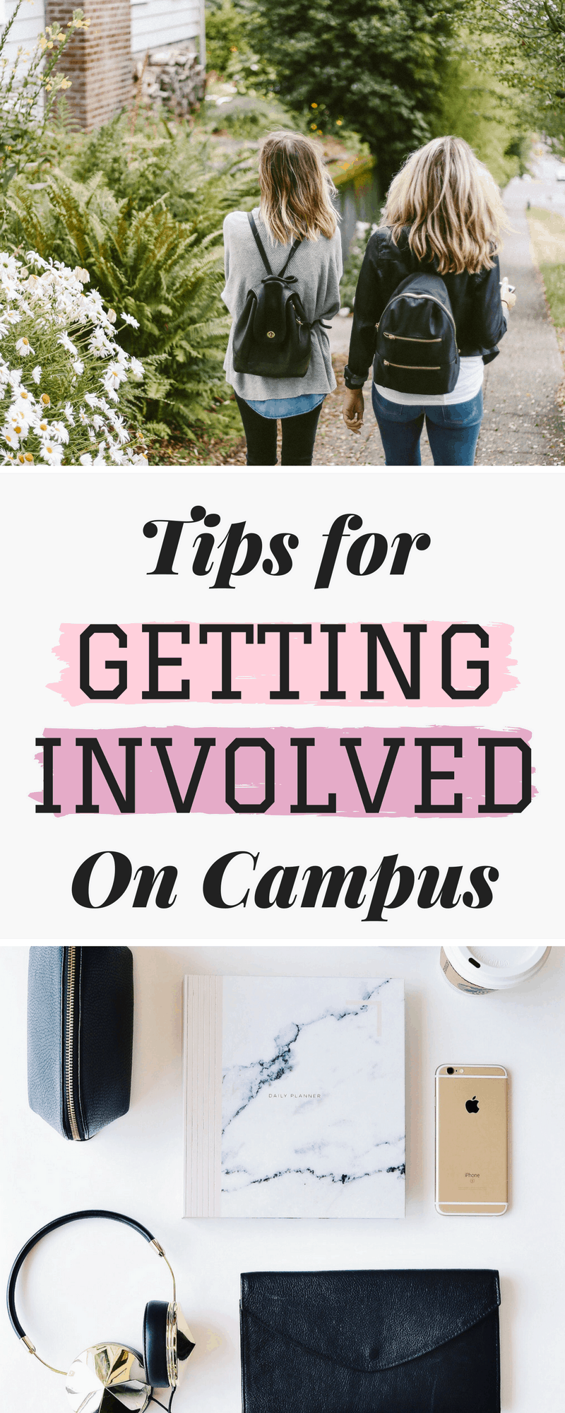 Our best tips for getting involved on campus