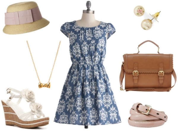 Grand Floridian Inspired Outfit 2