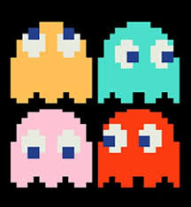 Ghosts from Pacman