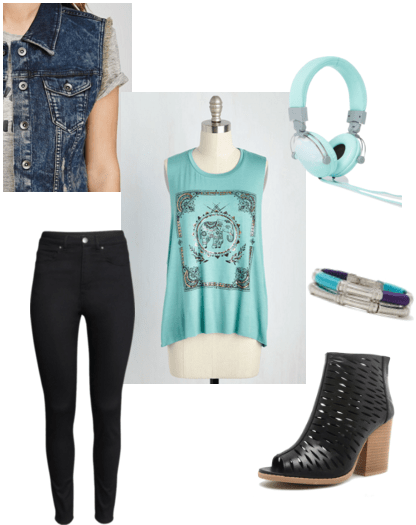 """""""Gibberish"""" inspired outfit"""