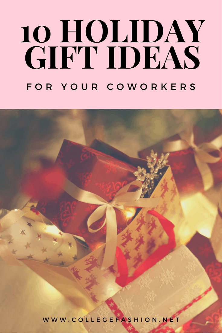 Holiday gift ideas for your coworkers
