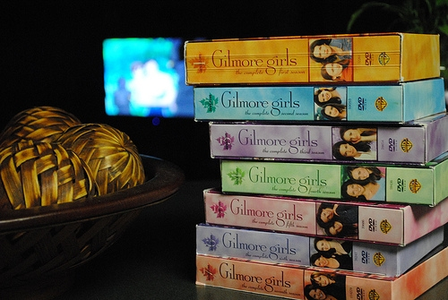 Gilmore girls DVDs