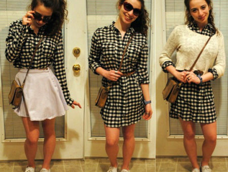 How to wear gingham print