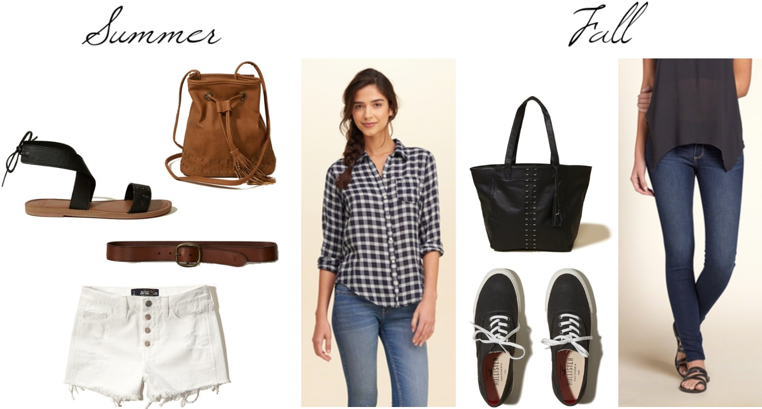 How to wear a gingham shirt in summer and fall