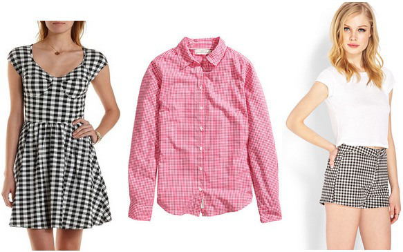 The gingham trend: Spring 2015