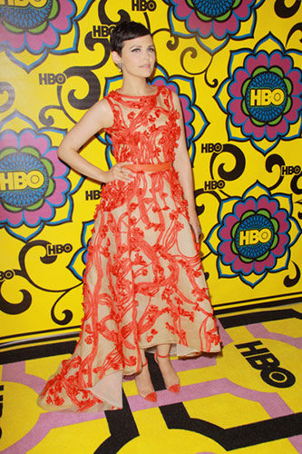 Ginnifer Goodwin in Monique Lhuillier at the 2012 Emmy Awards