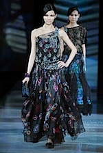 Giorgio Armani dress - fall fashion