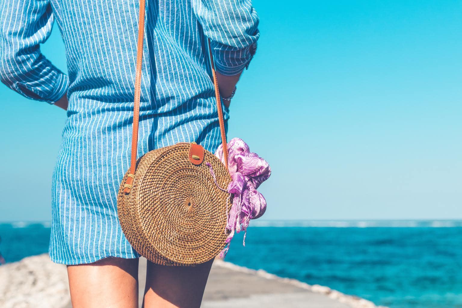 Summer girl at the beach