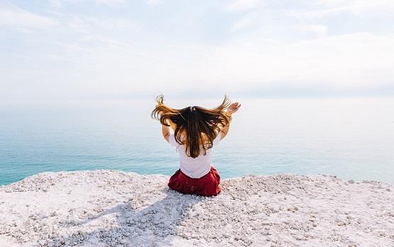 Girl Breaking Free