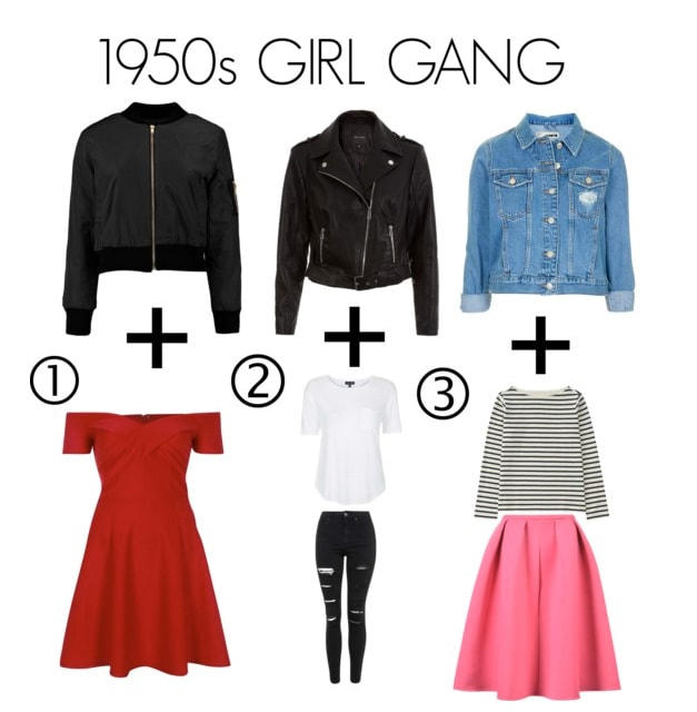 Fashion Foundation 1950 Girl gang
