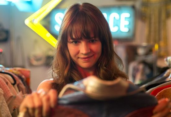 Britt Robertson as Sophia from the tv show Girlboss