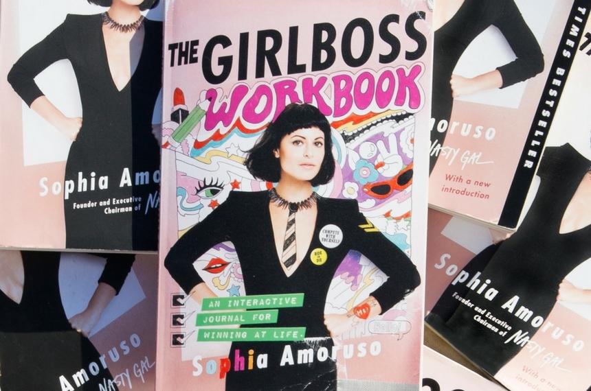 The Girlboss Workbook by Sophia Amoruso (book)
