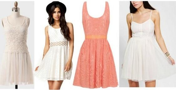 Girly dress wardrobe staple