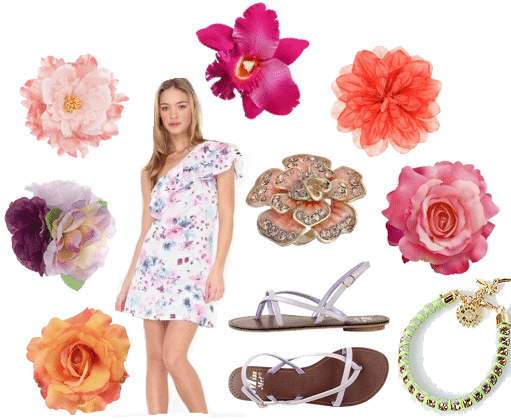 How to wear floral print