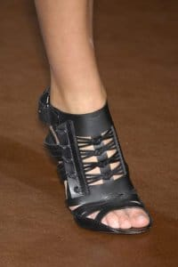 Gladiator Heels at Givenchy Spring 2008 RTW - Detail Shot
