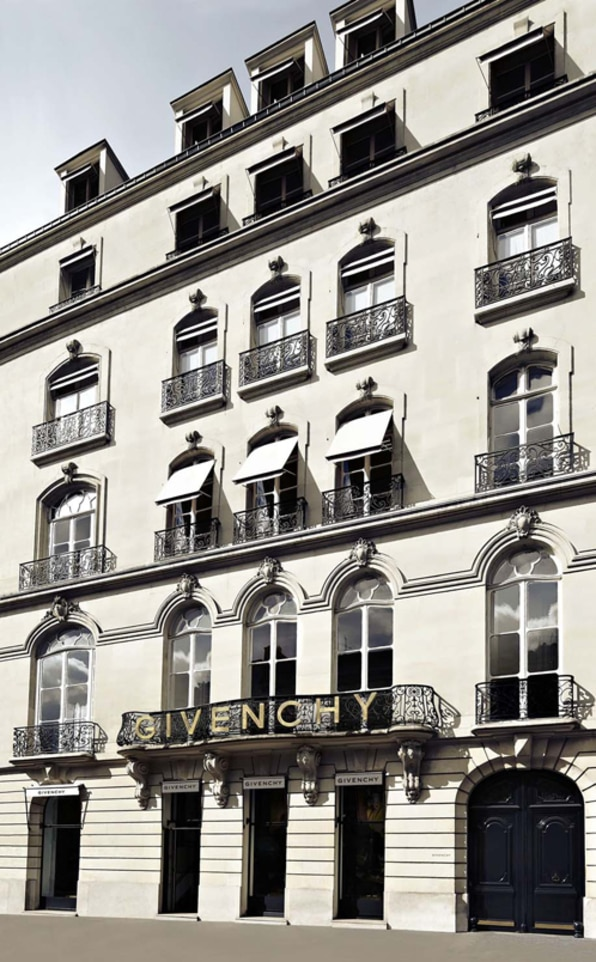 Givenchy store in Paris