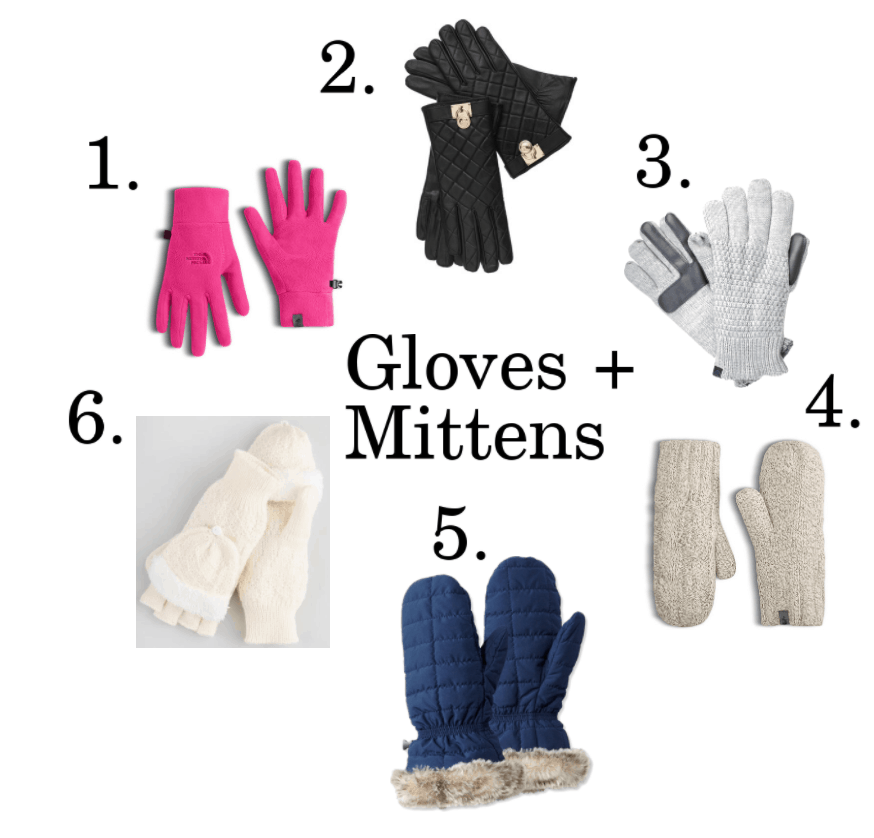 Gloves and mittens ideas.