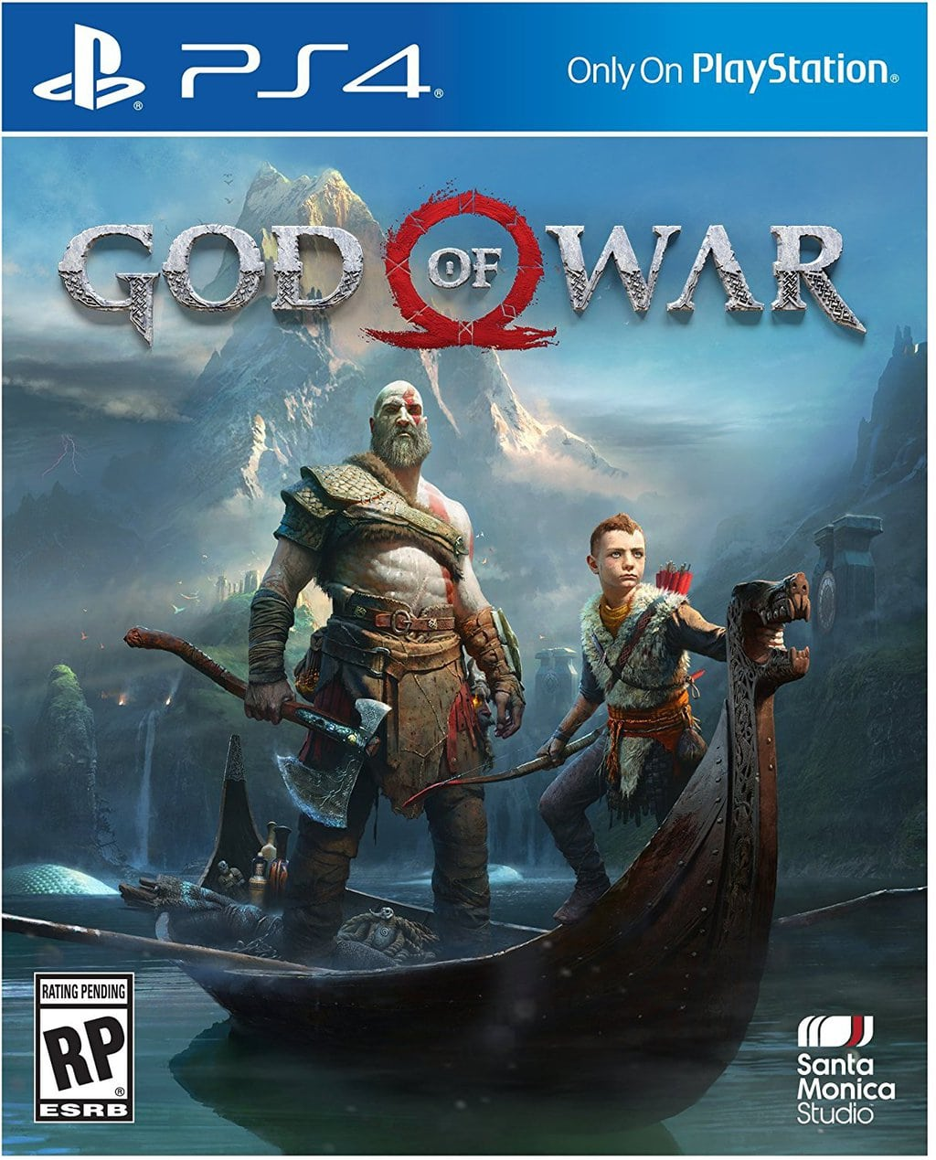 God of War 4 Video Game cover