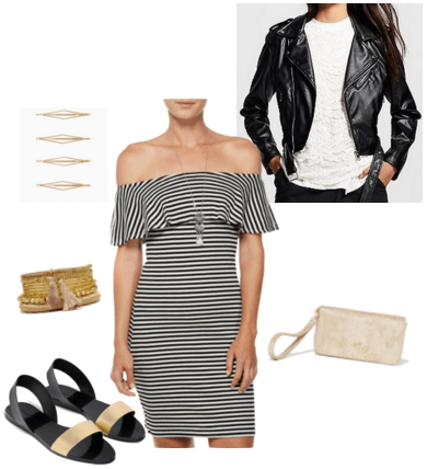 """""""Gold"""" inspired outfit"""