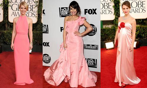 Golden Globes 2011 Trend- Pink