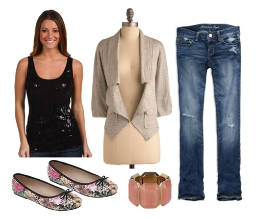 Golden Globes Trends Outfit- Sparkle
