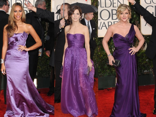 Leona Lewis, Sandra Bullock, Jane Krakowski