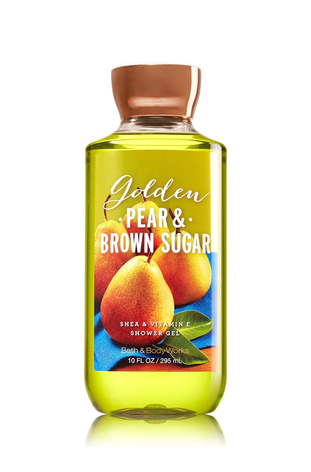 Golden pear and brown sugar body wash