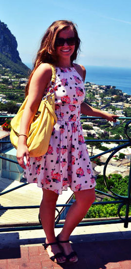 Fashion at Gonzaga University on college fashionista Sarah