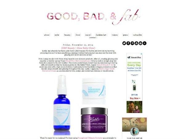 Good bad and fab blog