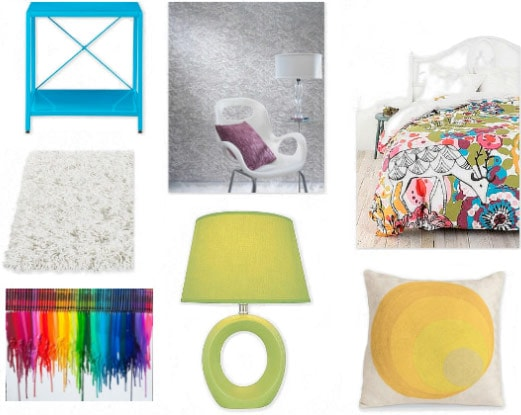 Interior design for your apartment or dorm inspired by Google Plus