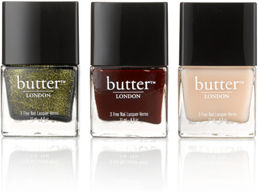 Goop & Butter London nail polishes